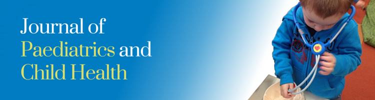 Journal of Paediatrics and Child Health Online Portal